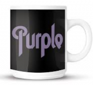 Deep Purple Logo - MUG (11oz) (Brand New In Box)